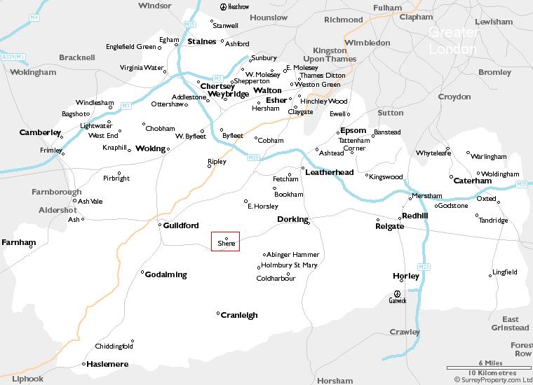 Map Of England Motorways.Maps Of Surrey England Uk Surreyproperty Com