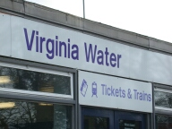 Railway station, Virginia Water