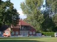 Cricket pavillion, Chobham