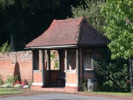 Bus shelter, Chobham