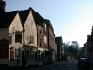 Approach to castle, Guildford