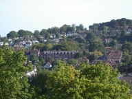 View from cathedral, Guildford