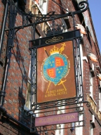 The Kings Arms sign, Godalming