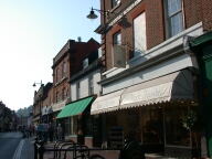 Shops, Godalming