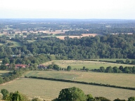 View from Box Hill, Dorking