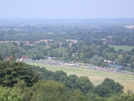 View from Coopers Hill, Egham