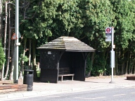 Bus stop, Banstead