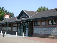 Oxted railway station, Oxted