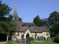 St Peters church, Tandridge