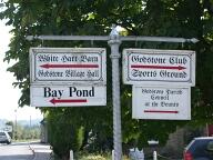 Sign, Godstone