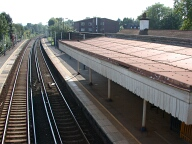 Rail station, Merstham