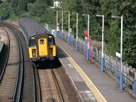 Rail station, Merstham