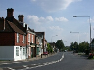 Merstham - population: 7,385