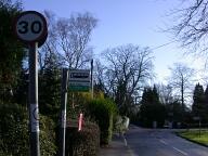 Bus stop, Woldingham