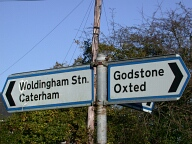 Sign, Woldingham