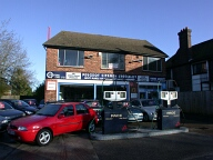 Car showroom, Woldingham