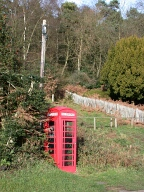 Telephone box, Holmbury St Mary