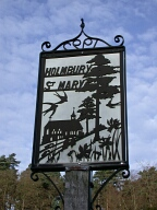 Village sign, Holmbury St Mary