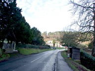 Village road, Holmbury St Mary