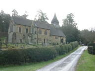 Church, Holmbury St Mary