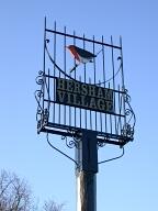 Village sign, Hersham