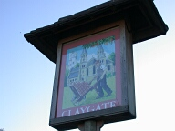 Sign, Claygate