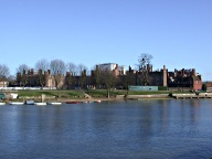 View to Hampton Court Palace, East Molesey