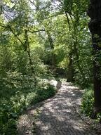 Path to John F Kennedy memorial, Runnymede, Egham