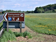 Sign, Runnymede, Egham