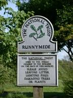 Sign, Runnymede, Egham
