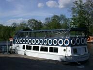 River boat, Runnymede, Egham