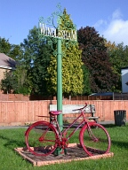 Village sign, Windlesham