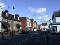 Town centre, Bagshot