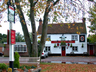 The Cricketers pub, Pirbright