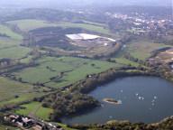 Aerial photograph of Lake