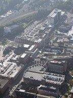 Aerial photograph of Redhill centre