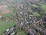 Aerial photograph of West Horsley
