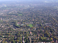 Aerial photograph of Bookham