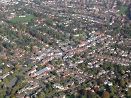 Aerial photograph of Ashtead