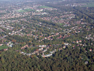 Aerial photograph of View over Tadworth