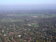 Aerial photograph of View from Epsom