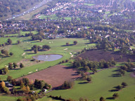 Aerial photograph of Reigate Hill golf course