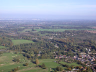 Aerial photograph of View towards Croydon