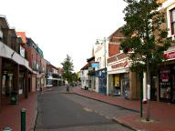 Town centre, Egham