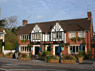 The Crown pub, Egham