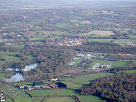 Aerial photograph of View between Reigate and Horley