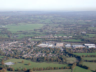 Aerial photograph of View north of Horley