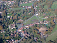 Aerial photograph of Chiddingfold