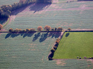 Aerial photograph of Fields south-west of Chiddingfold