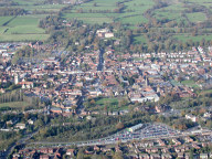 Aerial photograph of Farnham